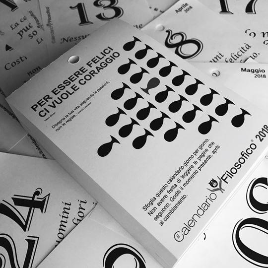 Calendario Filosofico Frase Di Oggi.Calendario Filosofico Da Regalo Ad Azienda Con 100 Punti