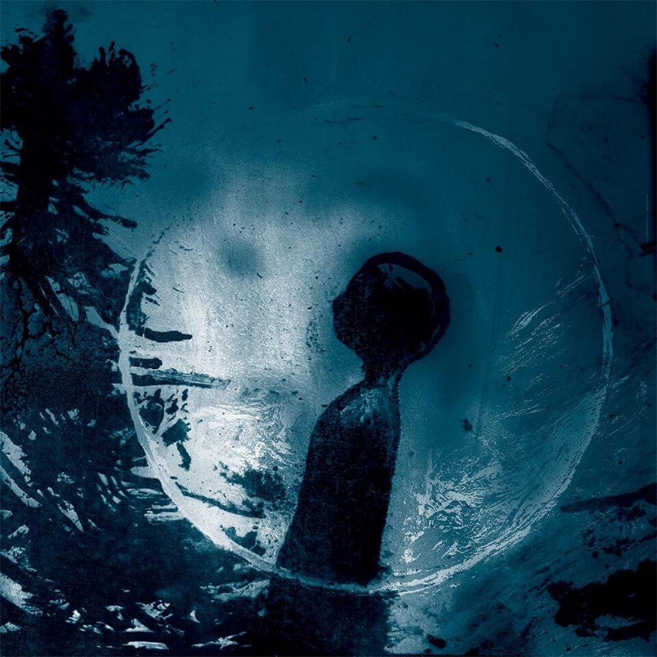 """Copertina del disco/libro""""La voce del castoro"""" di Stefano Ricci ed Ettore Dicorato, in live al Festival del fumetto Bilbolbul 2019"""
