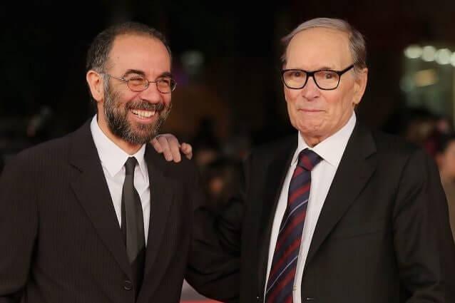Ennio Morricone e Giuseppe Tornatore sul red carpet