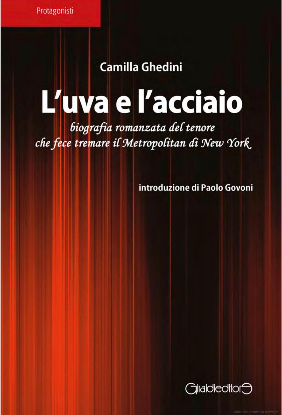 Copertina del libro L'uva e l'acciaio (Giraldi Editore)