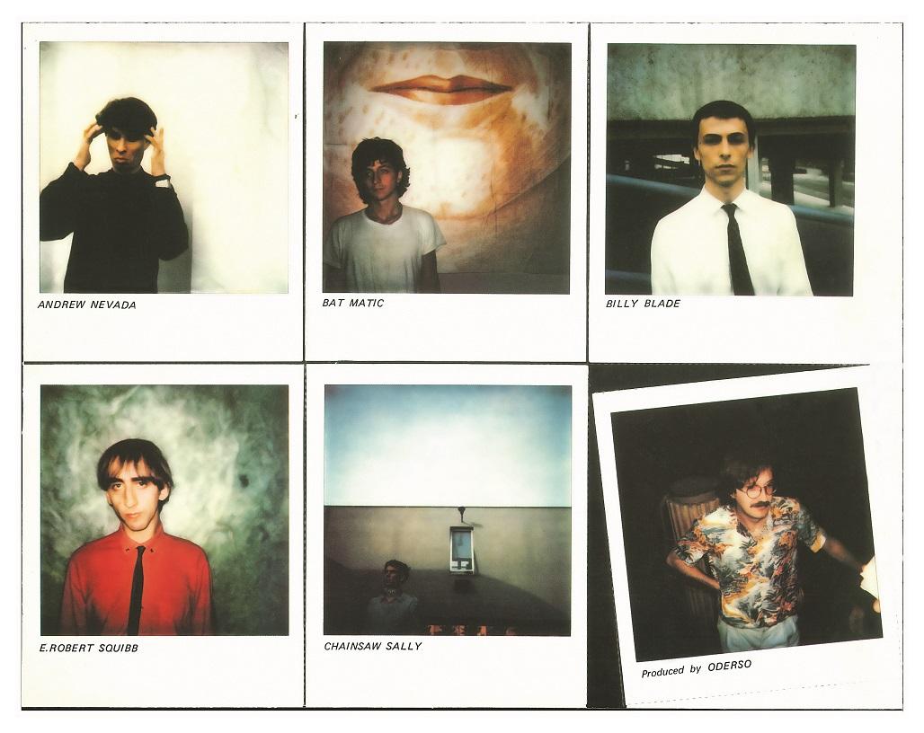 Gaznevada Sick Soundtrack polaroid
